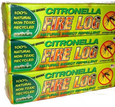 Earthlog Citronella Logs